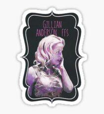 Gillian Anderson FFS Sticker