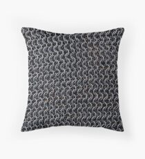 Knight (Chainmail / armor) Throw Pillow