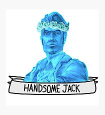 Handsome Jack, neighborhood menace Photographic Print