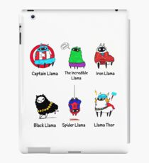 The LlamAvengers iPad Case/Skin