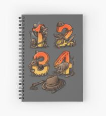 Adventurous Archaelogist Spiral Notebook