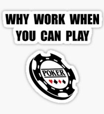 Play Poker Sticker