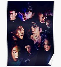 EXO - Monster-Collage Poster