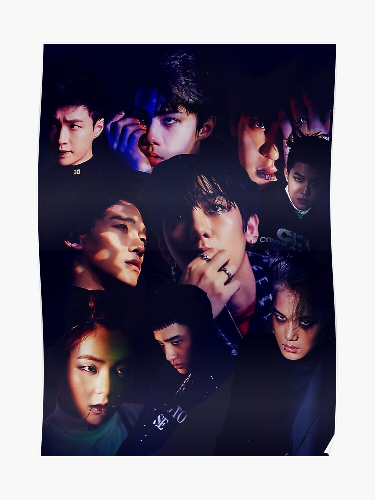 EXO - Monster Collage | Poster