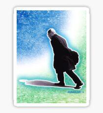 Sartre Walking Sticker