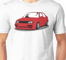 MK3 Jetta Graphic Red Unisex T-Shirt