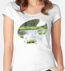 Lotad used Absorb Women's Fitted Scoop T-Shirt
