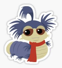 Allo! The Worm - Labyrinth Sticker