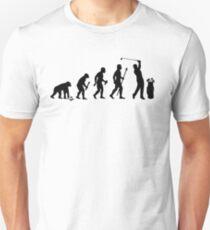 Evolution Of Man and Golf Unisex T-Shirt