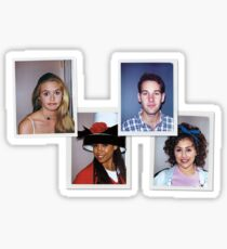 Clueless Movie Polaroids Sticker