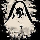 Scary Nun – creme white by Bela-Manson