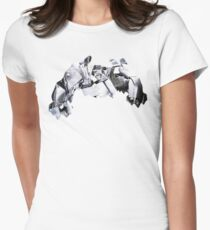 Metagross used Meteor Mash Women's Fitted T-Shirt