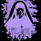 Scary Nun – violet by Bela-Manson