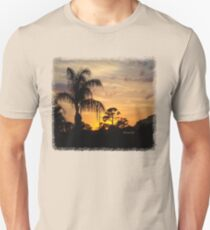 Fast Moving Clouds at Sunset T-Shirt