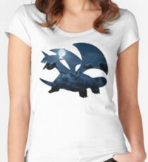 Salamence used Dragon Tail Women's Fitted Scoop T-Shirt