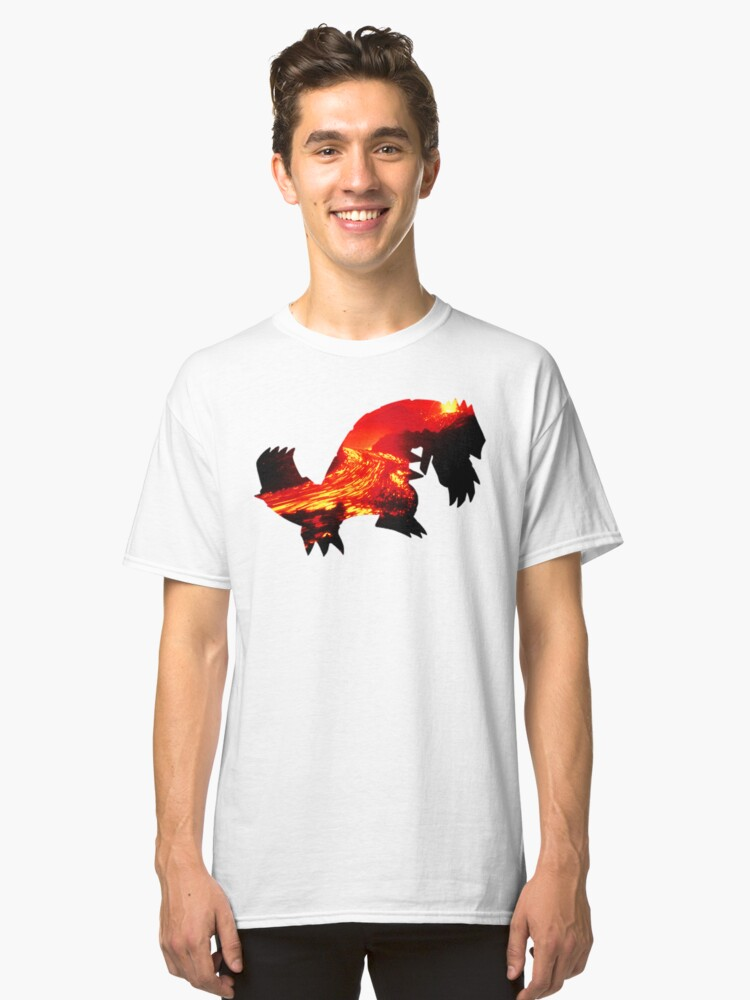 Groudon used Earthquake Classic T-Shirt Front