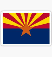 Arizona Flag Sticker