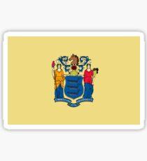 New Jersey Flag Sticker