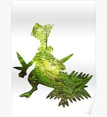 Sceptile used Leaf Storm Poster