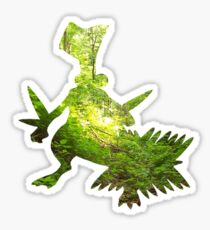 Sceptile used Leaf Storm Sticker