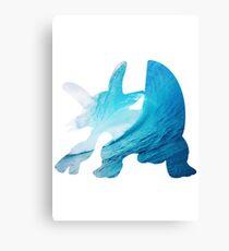 Swampert used Muddy Water Canvas Print
