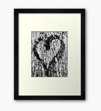 Graffiti heart 3 Framed Print
