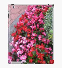A Multitude of Begonias iPad Case/Skin