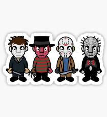 Horror Movie -  Serial Killers - Cloud Nine Sticker