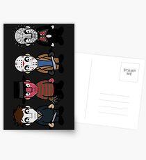 Horror Movie -  Serial Killers - Cloud Nine Postcards