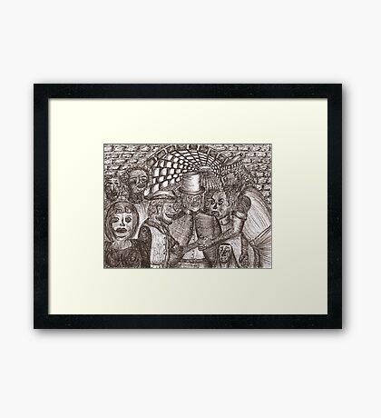 Underworld contract Framed Print