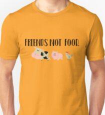 Friends Not Food - Animals Unisex T-Shirt
