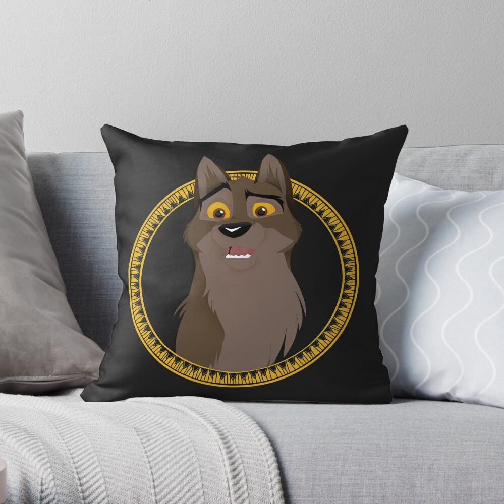 Kein Hund, kein Wolf Dekokissen