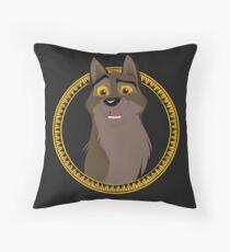 Not a Dog, Not a Wolf Throw Pillow