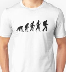 Evolution Of Hiking T-Shirt