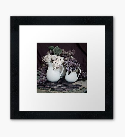 Purple Passion Tapestry Framed Print