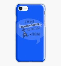 Roller coaster of life iPhone Case/Skin