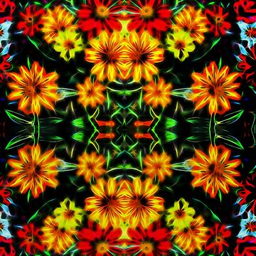 Zinnia blossom digital art by NEKphotoart