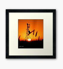 wind mill Framed Print