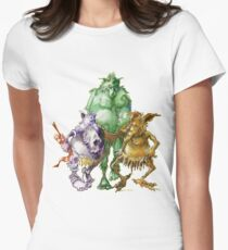 A Study in Troll Women's Fitted T-Shirt