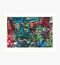 Gidgegannup Gardens- Kerry Beazley Art Print