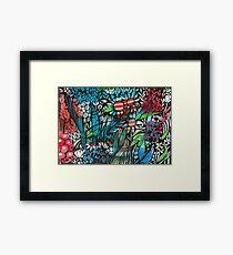 Gidgegannup Gardens- Kerry Beazley Framed Print