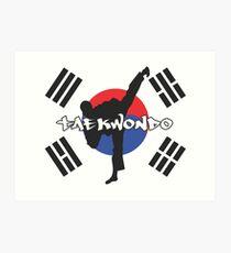 Lámina artística Taekwondo
