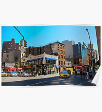 New York Intersection Poster