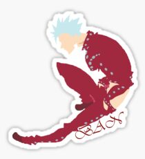 The Seven Deadly Sins ~ Ban Sticker