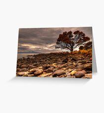 Coswell Beach Greeting Card