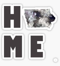 "Iowa ""HOME"" Sticker"