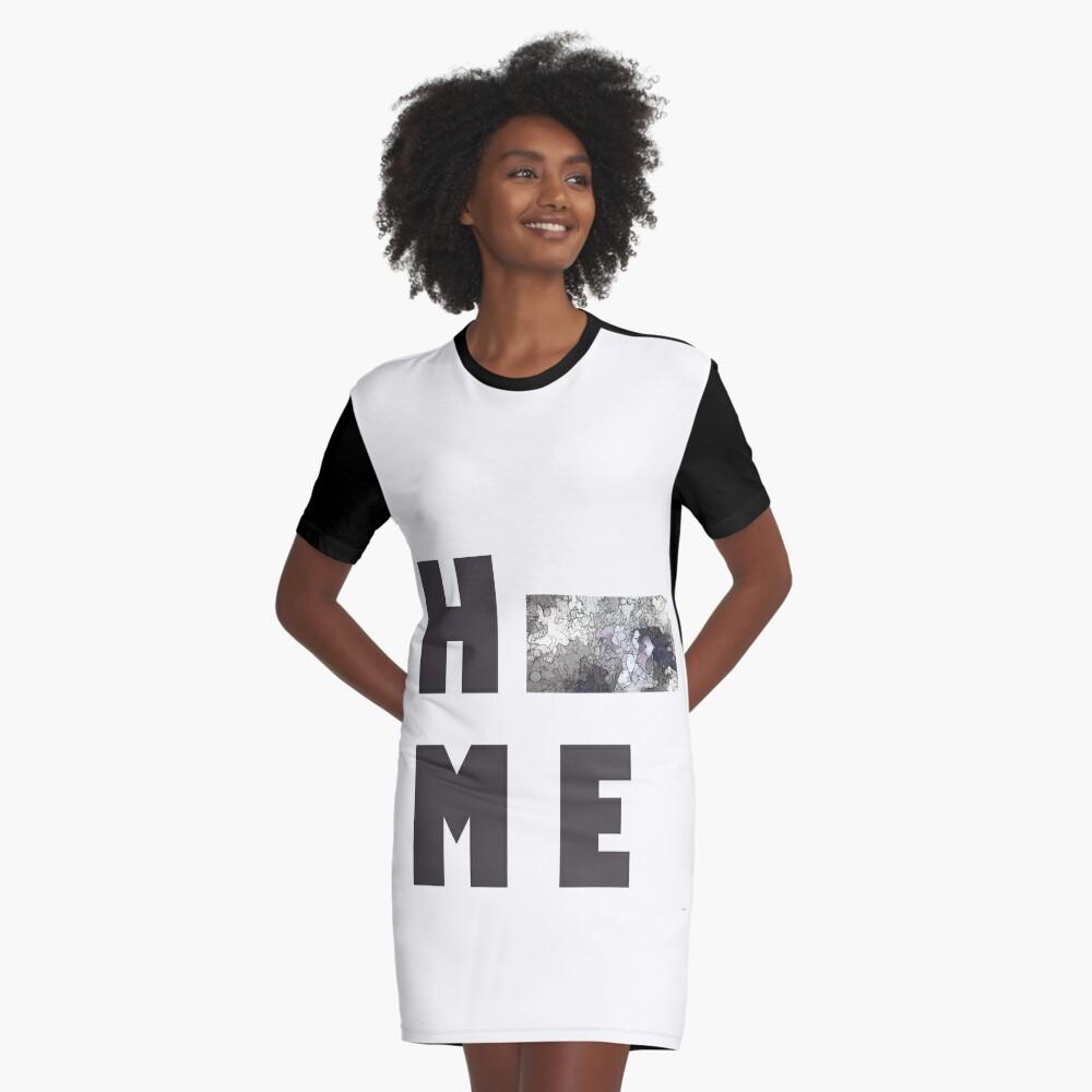 "Kansas ""HOME"" T-Shirt Kleid"