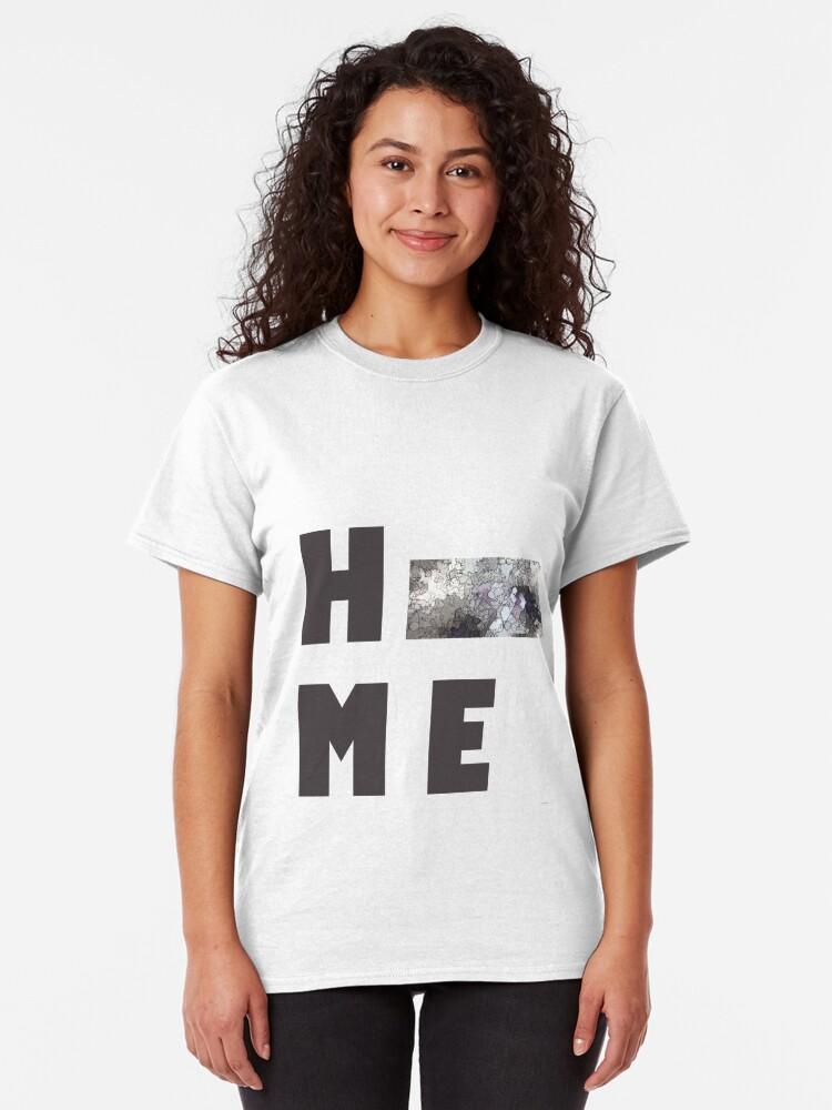 """Alternative Ansicht von Kansas """"HOME"""" Classic T-Shirt"""