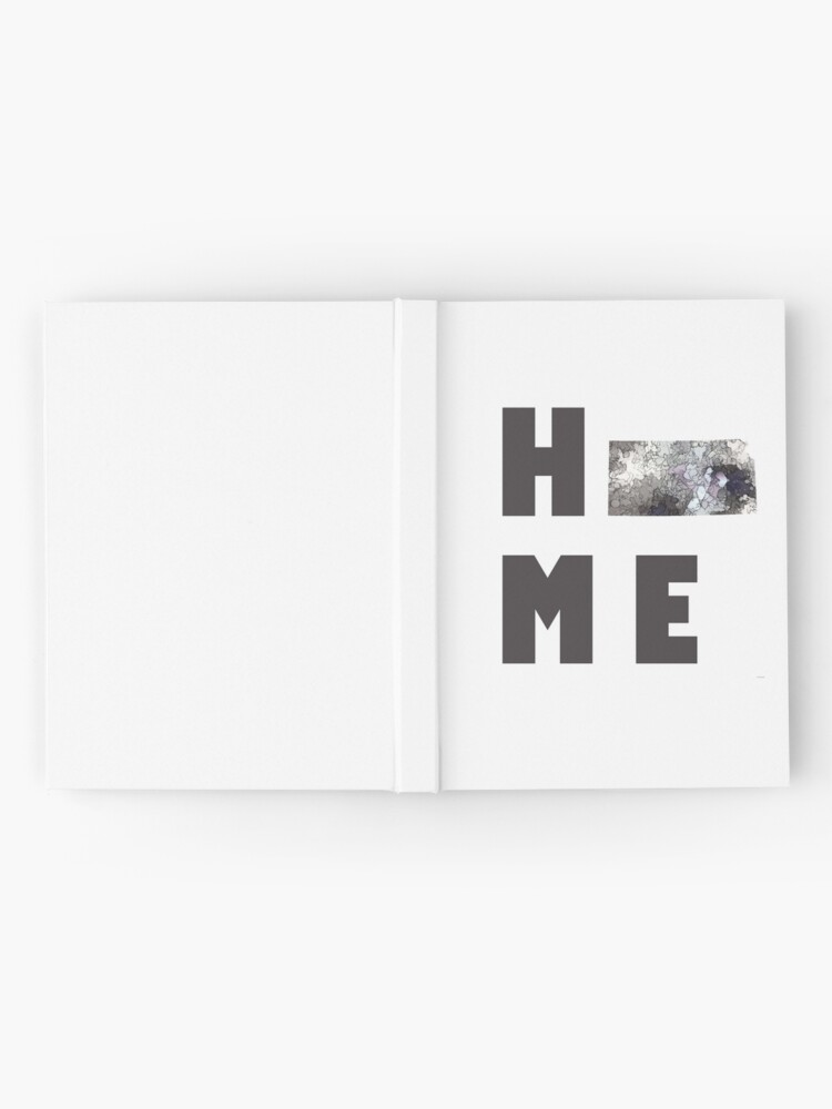 """Alternative Ansicht von Kansas """"HOME"""" Notizbuch"""