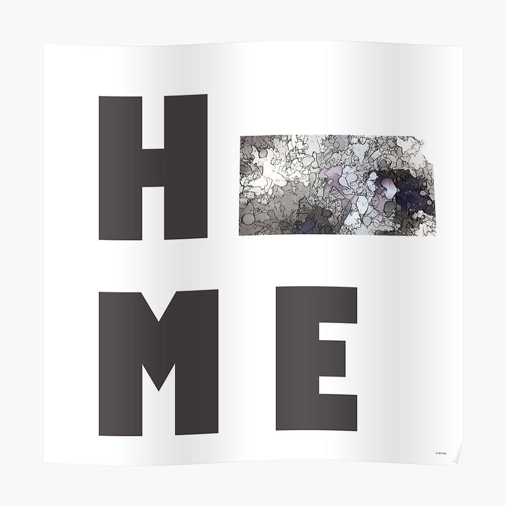 "Kansas ""HOME"" Poster"